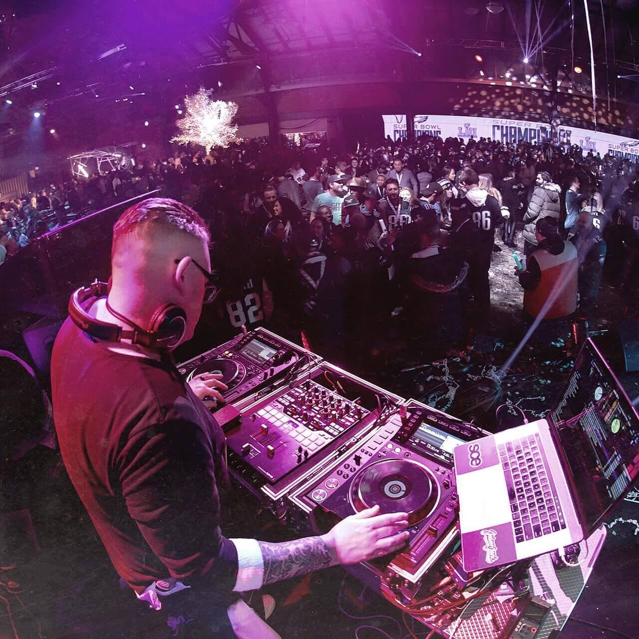 DJ Performing